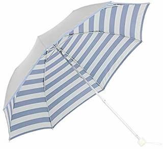 Amazon|日傘 軽量 折り畳み 晴雨兼用 UPF50+ UVカット率/遮光率99%以上 遮熱 <ひんやり傘>【LIEBEN-0577】 (ボーダー)|Lieben(リーベン) - 日傘 通販 (142902)