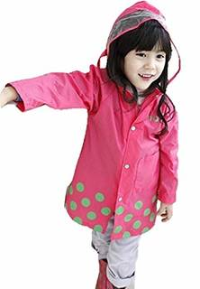 Amazon | 【Ludus Felix】レインコート キッズ 子供 男の子 女の子 レインウェア 雨具 かっぱ 携帯ポーチ付き | レインウェア 通販 (143137)