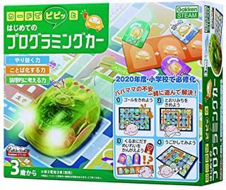 Amazon | カードでピピッと はじめてのプログラミングカー | プログラミング・ロボティクス | おもちゃ (143239)