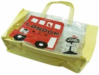 Amazon.co.jp: nico hrat(ニコフラート) ロンドンバス ビーチバック NO.B-298007: シューズ&バッグ (144816)