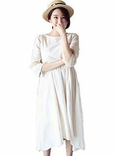 Amazon | Twinkle goods 【改良版】スカート丈アップ 授乳服 (149279)