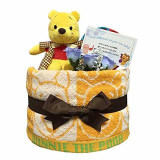 Amazon | おむつケーキ くまのプーさん 出産祝い (149754)