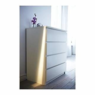 IKEA(イケア) MALM ホワイト 8021455...