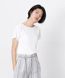 オーガニックコットンリブTシャツ(半袖) | センスオブプレイス(SENSE OF PLACE) - MAGASEEK (151033)