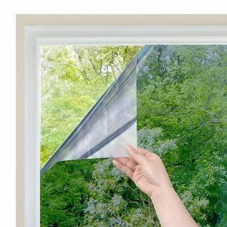 Amazon.co.jp : Homein 窓 断熱シート 目隠しシート マジックミラー フィルム 遮熱 遮光 節電 uvカット 赤外線/紫外線対策 ガラス飛散防止 剥がせる(シルバー 44.5cm x 200cm) : ホーム&キッチン (151315)