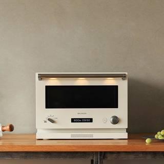 Amazon | バルミューダ 18L フラット庫内オーブンレンジ BALMUDA The Range K04A-WH(ホワイト) | BALMUDA(バルミューダ) | オーブンレンジ (152604)