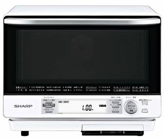 Amazon | シャープ 過熱水蒸気オーブンレンジ 2段調理 31L ホワイト RE-V100A-W | シャープ(SHARP) | スチームオーブン・レンジ (152608)