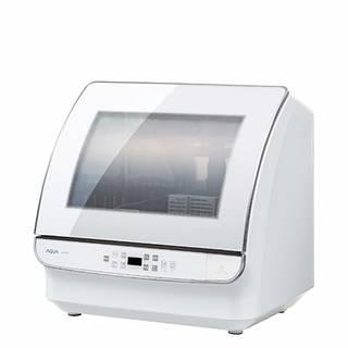 Amazon | 【 AQUA 】食器洗い乾燥機 34L ホワイト アクア / 工事不要 しょくせんき 高性能 超節水 タイプ タッチパネル式 | AQUA | 食器洗い乾燥機 (158106)