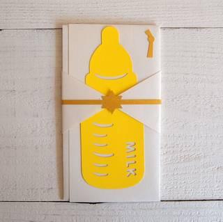 Amazon | 紙ing シイング 美濃和紙 お祝い飾り金封 (MILK) | 祝儀袋 | 文房具・オフィス用品 (158430)