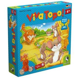 Amazon | ねことねずみの大レース (Viva Topo!) PG66003 ボードゲーム | ボードゲーム | おもちゃ (160336)