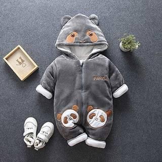 Amazon.co.jp: 子供服 女の子 ジャンプスーツ ベビー服 フード付き (161055)