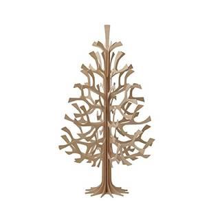 Amazon | lovi(ロヴィ) 白樺のクリスマスツリー(Momi-no-ki) 30cm ナチュラルウッド | 家具の里 | 置物・オブジェ (162215)