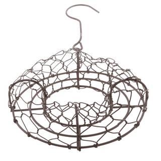 Amazon | Sharplace 花輪フレーム 多肉植物ホルダー プランター 鉄ワイヤー  | プランター (162222)