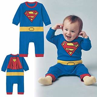 Amazon.co.jp: [ベルメゾン] ベビー服 カバーオール なりきり ベビー コスチューム 男の子 仮装 綿100% スーパーマン サイズ:80: ベビー&マタニティ (162522)