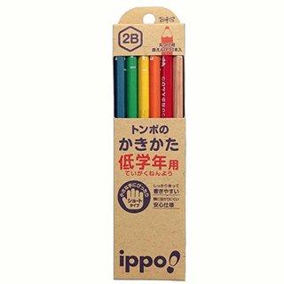 Amazon | トンボ鉛筆 鉛筆 ippo! 低学年用かきかた 2B ナチュラル MP-SKNN03-2B | 文房具・オフィス用品 | 文房具・オフィス用品 (166715)