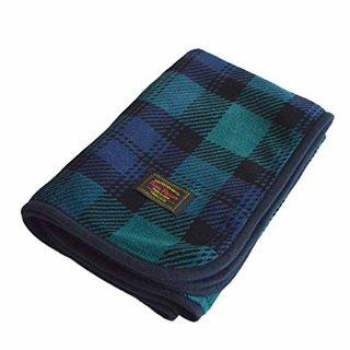 Amazon|TRANPARAN ひざ掛け マイヤーブランケット 着る毛布 3WAY 70×100cm (タータンチェックグリーン/Mサイズ)|ひざ掛け・ハーフケット オンライン通販 (166935)