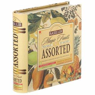 Amazon | バシラーティーマジックフルーツアソートブック(64g) | バシラ―ティー | 紅茶 通販 (170848)