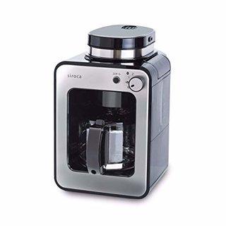 Amazon | シロカ 全自動コーヒーメーカー 新ブレード搭載 [静音/コンパクト/ミル2段階/豆・粉両対応/蒸らし/ガラスサーバー] SC-A211 ステンレスシルバー | siroca(シロカ) | コーヒーメーカー (170912)