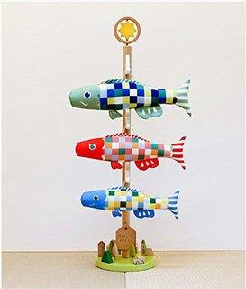 Amazon | こいのぼり プーカの木 室内鯉のぼり Puca 高田屋人形店ブランド証明書付き | こいのぼり | おもちゃ (171461)