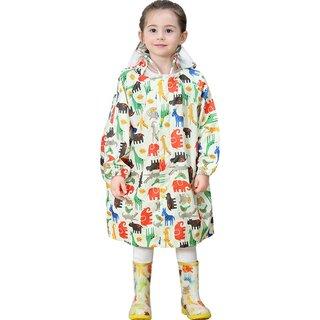 Amazon | Emfay キッズ レインコート 子供用 ランドセル対応 通園 通学 雨具 男の子 女の子 収納ポーチ付き | レインウェア 通販 (172752)