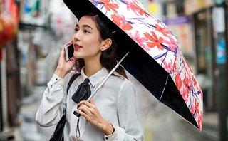 Amazon.co.jp: 日傘 折りたたみ傘 超軽量 2020最新版 晴雨兼用 完全遮光 遮熱 UVカット率99.9% 耐風撥水 小型 携帯しやすい レディース コンパクト ミニ傘 収納ポーチ付き (ピンク花): 服&ファッション小物 (173205)