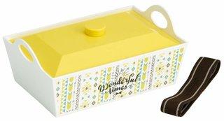 Amazon|スケーター 行楽弁当箱 大型弁当箱 ワンダフルタイムYE 日本製 1.3L PLF13|大型弁当箱 オンライン通販 (173328)