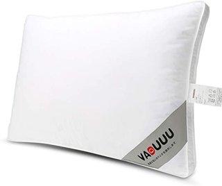 Amazon|VADUUU 枕 安眠枕 人気の肩こり対策 まくら 快眠 高反発枕 いびき防止 頚椎サポート 高級ホテル仕様 家族のプレゼント 43x63cm(ホワイト)|枕 オンライン通販 (173693)