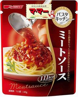 Amazon | マ・マー パスタキッチン ミートソース 140g×6個 | 日清フーズ | パスタソース 通販 (174504)