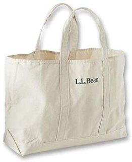 Amazon | L.L.Bean(エルエルビーン) トートバッグ グローサリー・トート キャンバス Natural ナチュラル 0RPA470000 | トートバッグ (175092)