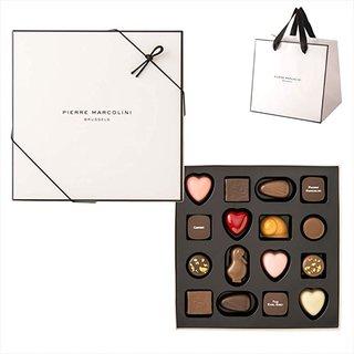 Amazon | 【公式】ピエール マルコリーニ セレクション 16個入り 【PIERRE MARCOLINI】手提げ袋付き クール便 | PIERRE MARCOLINI | チョコレートトリュフ 通販 (175457)