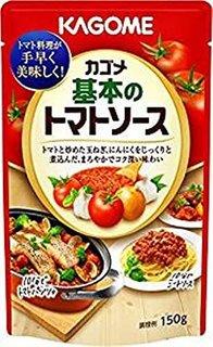 Amazon | カゴメ 基本のトマトソース 150g | たれ・料理ソース 通販 | (175861)