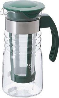Amazon|HARIO (ハリオ) かご網付き 水出し 茶 ポット ミニ HCC-7DG|ティーポット オンライン通販 (176170)