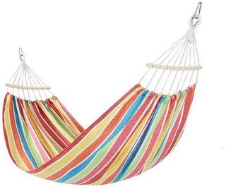 Amazon | Tentock ハンモック 200*100cm 耐荷重約200kg 折畳み 軽量 超広い 肌触り良い 野外 部屋 癒し睡眠に効果 収納袋付き コンパクト携帯便利 室内 昼寝 アウトドア キャンプ 公園 ピクニック (オレンジ) | Tentock | ハンモック (176279)