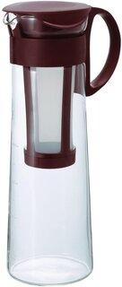 Amazon|HARIO(ハリオ) 水出し珈琲ポット ショコラブラウン 8杯用 日本製 MCPN-14CBR|ウォータードリッパー オンライン通販 (176540)