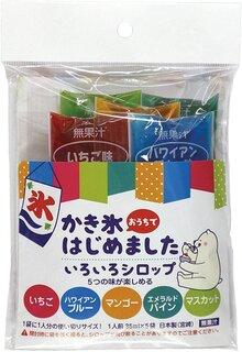 Amazon.co.jp: 大黒工業 大黒工業 おうちでかき氷 いろいろシロップ 5種類 175ml: ホーム&キッチン (176945)