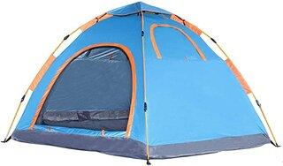 Amazon | Sun Ruck ワンタッチテント 設営簡単 サンルック 4人用 5人用 六角テント フルクローズ 防水 大型 キャンピングテント 軽量 ヘキサゴンテント グランドシート付 収納バッグ付 おうちキャンプ SR-OCT245-BL ブルー | Sun Ruck | テント本体 (177650)