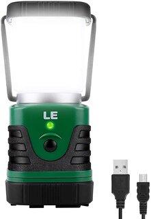 Amazon | LE LEDランタン パワーバンク キャンプランタン 超高輝度1000ルーメン USB充電式 一台二役 昼白色と電球色切替 4つ点灯モード 無段階調光調色 防滴仕様 アウトドア キャンプ 登山 夜釣り 防災 停電 緊急 非常用 | Lighting EVER | ランタン (177652)