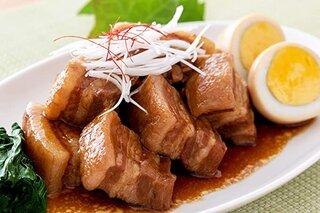 Amazon | レトルト 豚の 角煮 500g 手軽に家庭料理 / お弁当 お惣菜 おかず 温めるだけの簡単調理 | すこやかいろは | 豚肉 通販 (178484)