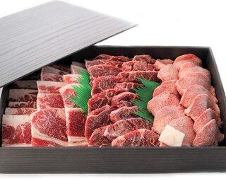 Amazon | 3種の部位盛り 焼肉セット800g【牛タン200g カルビ300g ハラミ300g】/焼き肉 やきにく バーベキュー 化粧箱入り ギフトにも | 馬油STORE | 牛肉 通販 (178900)