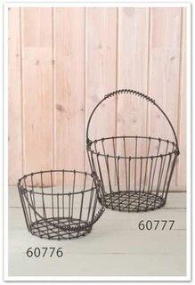Amazon | ワイヤーバスケットL 60777 | DIY・工具・ガーデン (179240)
