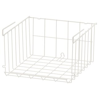 OBSERVATÖR オブセルヴァトール クリップオンバスケット - ホワイト - IKEA (180130)