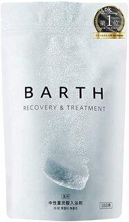 Amazon | BARTH バース 入浴剤 中性 重炭酸 30錠入り (保湿 ギフト 発汗 無添加) | BARTH | 炭酸入浴剤 通販 (180758)