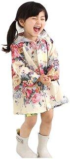 Amazon | Ymgot キッズ レインコート 女の子 レイン ポンチョ 花柄 子供 カッパ 雨具 | レインウェア 通販 (181149)