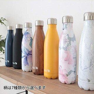 Amazon.co.jp: マグボトル 水筒 500ml ステンレスボトル おしゃれ マイボトル (185967)