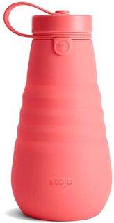 Amazon | STOJO ストージョ 折りたたみ式ボトル 再利用可能&漏れ防止 旅行用ウォーターボトル 20オンス/592ml (CORAL) | Stojo | 水筒・マグボトル 通販 (185968)