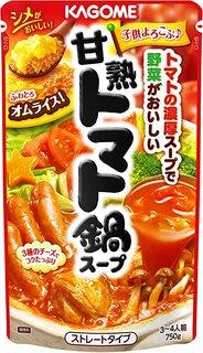 Amazon.co.jp: カゴメ 甘熟トマト鍋スープ 750g×3個: 食品・飲料・お酒 (186033)