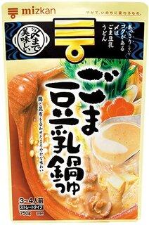 Amazon | ミツカン 〆まで美味しいごま豆乳鍋つゆストレート 750g×4袋 | ミツカン | めんつゆ 通販 (186225)