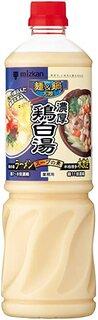 Amazon | ミツカン 麺&鍋大陸 濃厚鶏白湯スープの素 1110g | ミツカン | 鍋の素 通販 (186226)