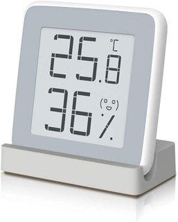 Amazon.co.jp: Homidy デジタル湿度計 温度計 室内 高精度±0.3℃ (186641)