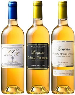 Amazon.co.jp: マイワインクラブ 貴腐ワイン 飲み比べ 3種3本セット デザート きふ: 食品・飲料・お酒 (186914)